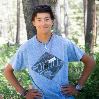 Tristan Deatherage, 15, is the first person from South Lake Tahoe to complete the Adventure Risk Challenge.