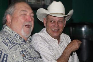 Nevada Assembly District 39 candidate Jim Wheeler is all smiles as election results are posted Tuesday night.