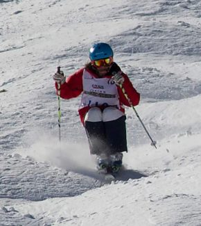 Taryn Baker of Incline Village competes at Junior Nationals in Park City, Utah. The 16-year-old Heavenly skier recently wrapped up her best season to date.