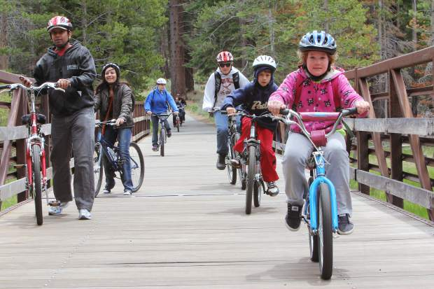 Tahoe Bike challenge underway