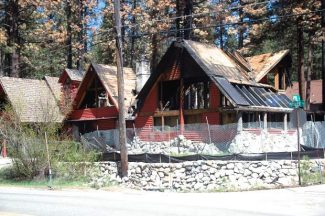The house at 3120 Pioneer Trail is shown Friday. Axie Navas / Tahoe Daily Tribune