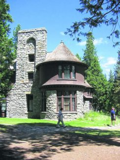 In addition to the Dolder Nature Trail, the Hellman-Ehrman Mansion is one of the attractions to Ed Z'berg Sugar Pine Point State Park.