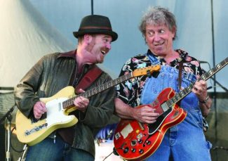 Elvin Bishop, right, returns to Lake Tahoe with a performance in the Harrah's Lake Tahoe South Shore Room Saturday.