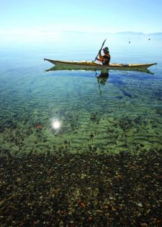 Kayaking is among the wide variety of outdoor pursuits to be highlighted at this weekend's Tahoe Expo.