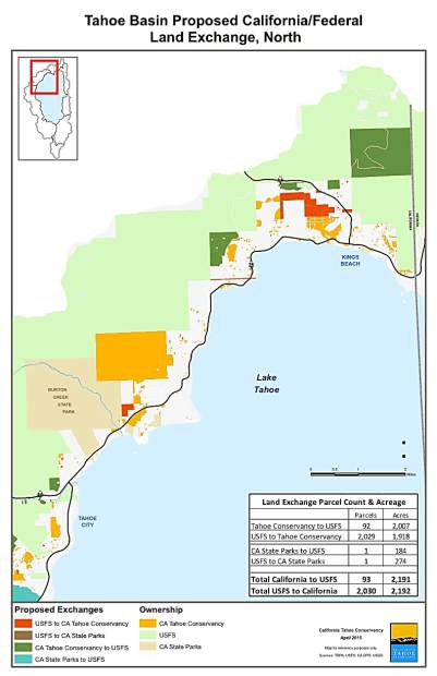 Courtesy U S Forest Service The U S Forest Service And California Tahoe Conservancy Land