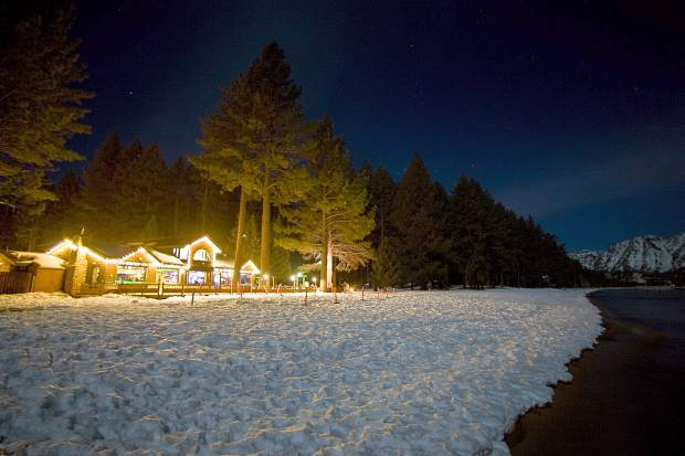 Snowshoeing Lake Tahoe: Full moon tours and races at Camp ...