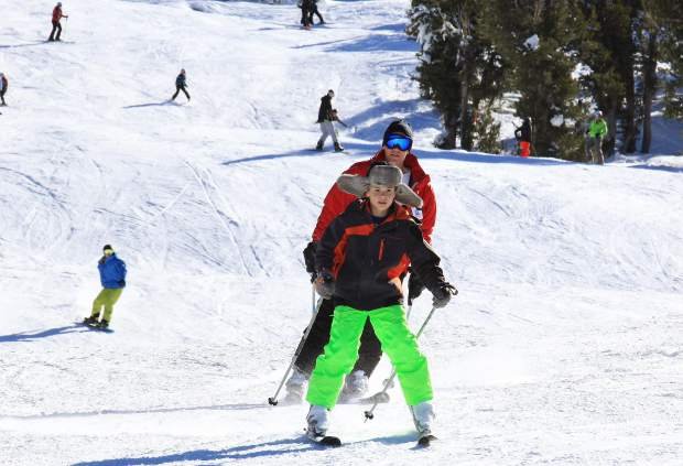With a fair amount of open terrain, slopes remained reletively uncrowded for opening day at Heavenly.