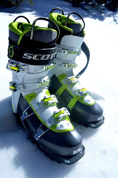 The Scott Cosmos II alpine touring boot.
