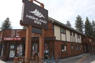 Plans have been made to convert the Highland Inn in South Lake Tahoe, seen here, into a restuarant, bar, gym and spa.