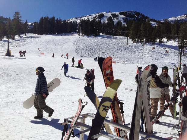 Kirkwood Mountain Resort operated chairs 1, 5 and 6 on opening day, Saturday, Nov. 14.