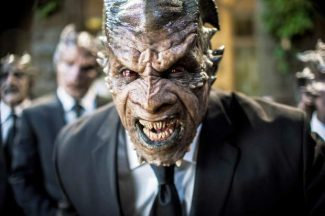 """This image released by Lionsgate shows Kevin Grevioux in a scene from """"I, Frankenstein."""""""