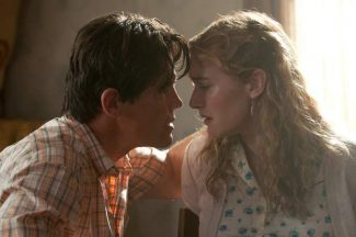 """This image released by Paramount Pictures shows Josh Brolin, left, and Kate Winslet in a scene from """"Labor Day."""""""