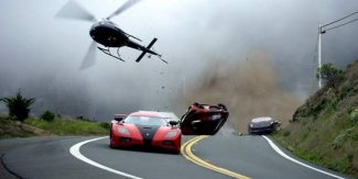 """This image released by DreamWorks II shows a scene from """"Need for Speed."""""""