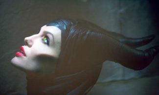 "This image released by Disney Enterprises, Inc., shows actress Angelina Jolie in the title role of ""Maleficent,"" the villian from the 1959 classic ""Sleeping Beauty."""