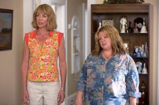 "This image released by Warner Bros. Pictures shows Allison Janney, left, and Melissa McCarthy in a scene from ""Tammy."""