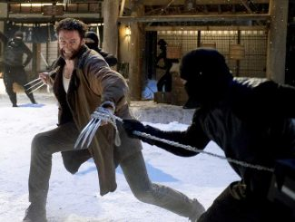 """This publicity image shows Hugh Jackman in a scene from """"The Wolverine."""""""