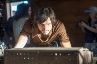 """This film image released by Open Road Films shows Ashton Kutcher as Steve Jobs in a scene from """"Jobs."""""""