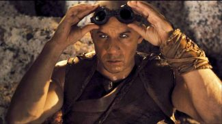"This film image released by Universal Pictures shows Vin Diesel in a scene from ""Riddick."""