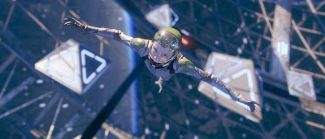 """Asa Butterfield in a scene from """"Ender's Game."""""""