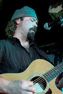 Doug Schwartz leads Deep Fryed Mojo into MontBleu Resort Casino & Spa for a free show Tuesday.