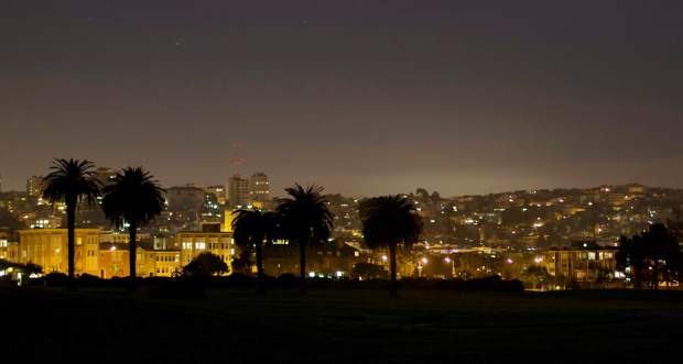 San Francisco by night. Students spent the trip learning action, city and night photography skills.