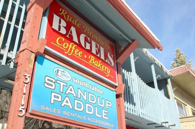 Both Rude Brothers and South Tahoe Standup Paddle will lose their storefronts due to building rennovations. Building owners said they have yet to decide who will take over the renovated space.