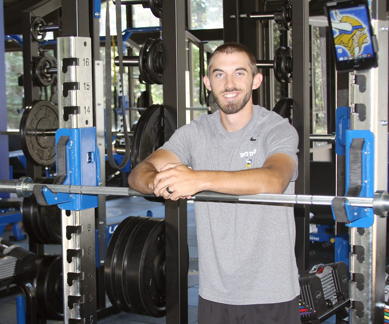 Success in strength: New Viking Strength and Conditioning Center