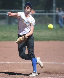 South Tahoe's Kendra Conard pitched six innings in Saturday's 12-3 loss to Lowry.