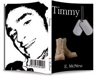 "The book cover for the forth coming book ""TImmy""."