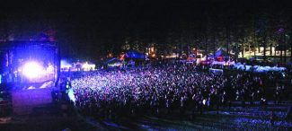 The SnowGlobe festival draws huge crowds to South Lake Tahoe.