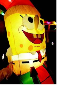 Tis The Season To Blow Up Spongebob Inflatables Becoming