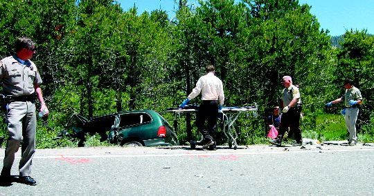 One dead, five injured in crash | TahoeDailyTribune com