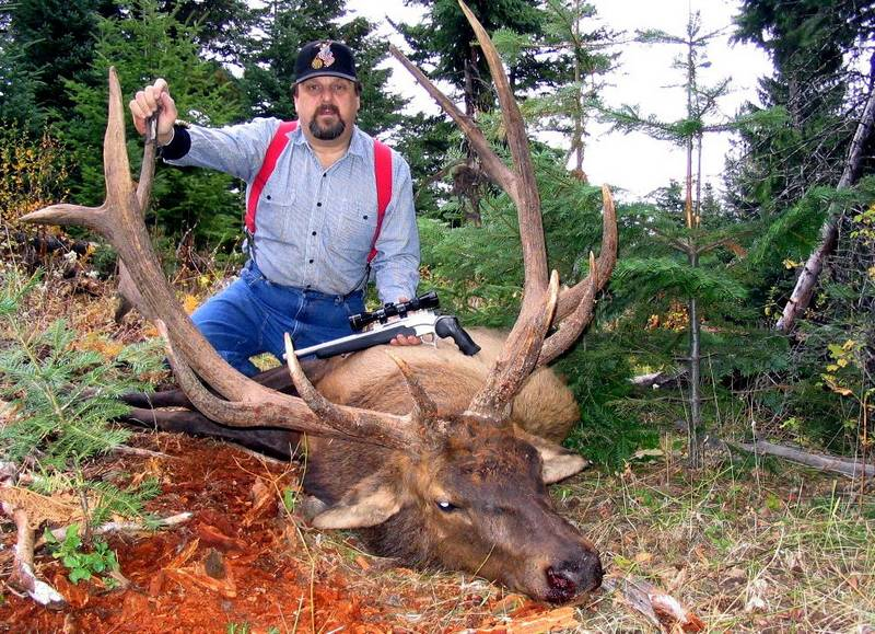 how to get a trophy elk in idaho point shoot and pay