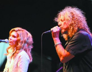 Jim Grant / Tahoe Daily Tribune The Robert Plant and Alison Krauss performance last Saturday kicked-off  the 2008 Harveys Summer Outdoor Concert Series.