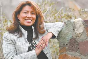 Cathleen Allison/Nevada Appealherry Rupert, executive director of the state Indian Commission, was honored last week by the Nevada Commission on Tourism for her work on the self-guided tour of the Stewart Indian School.