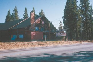 Provided by Bill KingmanThe American Legion Hall was the site of Jim Burgett's dances during the 1960s. The building was crushed one winter by a heavy snowpack. This photo was taken in 1965 by longtime Tahoe radio man Bill Kingman, years before spell check.