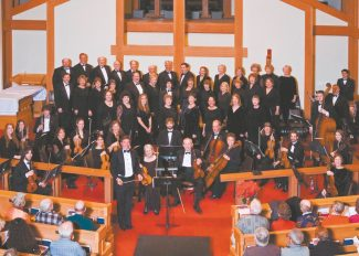 """Just like old times, Toccata poses for a photograph back in its second year in 2007 during a performance of Handel's """"Messiah."""" The orchestra will perform the classic five times throughout Tahoe this month."""