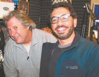 Howie Nave, left, often lambasted in this publication as a half-wit, teams with self-described half-breed Al Madrigal for one funny show this week at Harveys Improv. And make that two shows on Saturday.