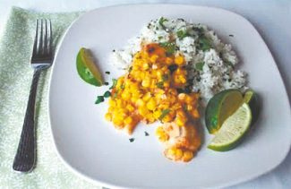 www.foodonthetable.comThis chili lime tilapia is healthy, but it doesn't compromise on flavor.