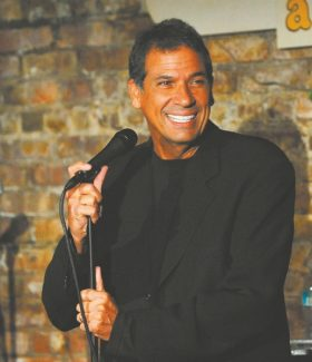 NEW BRUNSWICK, NJ - MAY 09:  Bobby Collins performs at The Stress Factory Comedy Club on May 9, 2009 in New Brunswick, New Jersey.  (Photo by Bobby Bank/WireImage)