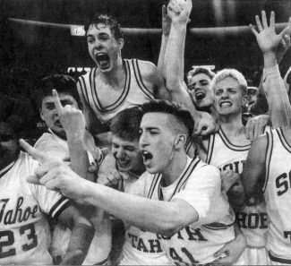 Tribune File PhotoIt's been 20 years since South Tahoe won the 1992 Nevada AAA state title. Jerod Hasse, top left, chatted with the Tribune on Thursday about the game.
