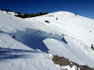 Sierra Avalanche CenterA fatal avalanche caused by a snowmobile on Friday afternoon.