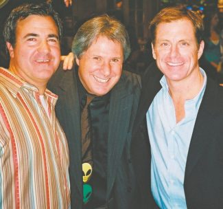 So two Irish Catholics and a Jew walk into a comedy club. The St. Patrick's week lineup at Harveys Improv, from left, Jackie Flynn, Howie Nave and Kevin Flynn.