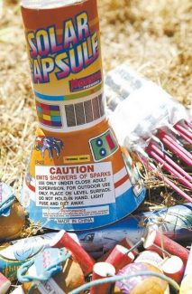 Shannon Litz / Tahoe Daily TribuneDo-it-yourself fireworks of all sorts are banned in Douglas and surrounding counties.