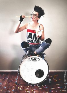 Callie Giovanna / Submitted to the TribuneNikki G, a South Lake Tahoe native, currently tours with the Street Drum Corps based in Los Angeles.