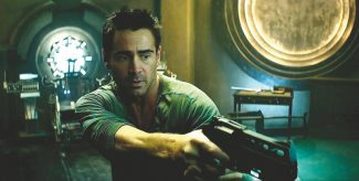 """Total Recall"" gets the reboot treatment, with Colin Farrell as the futuristic hero originally played by Arnold Schwarzenegger."