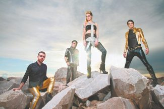Shiny Toy Guns sound like it's  from another planet, but it's really Oklahoma.