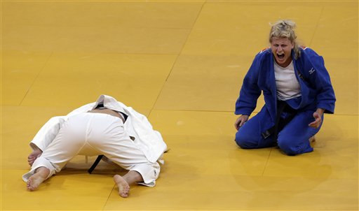 2012 OLYMPICS | For US judo fighter, a journey from pain to