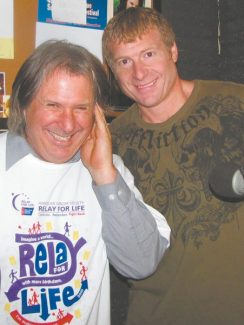 Howie Nave, left, and Joel Lindley appear this week at the Improv in Harveys Resort and Casino. There are two shows Saturday.