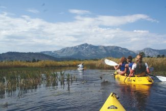 Courtesy photoKayak to the Upper Truckee River in the Marsh to Meadow Track offered through the Tahoe Expo, an event promoting sustainable tourism in the basin through outdoor excursions, scheduled for Sept. 8-9.